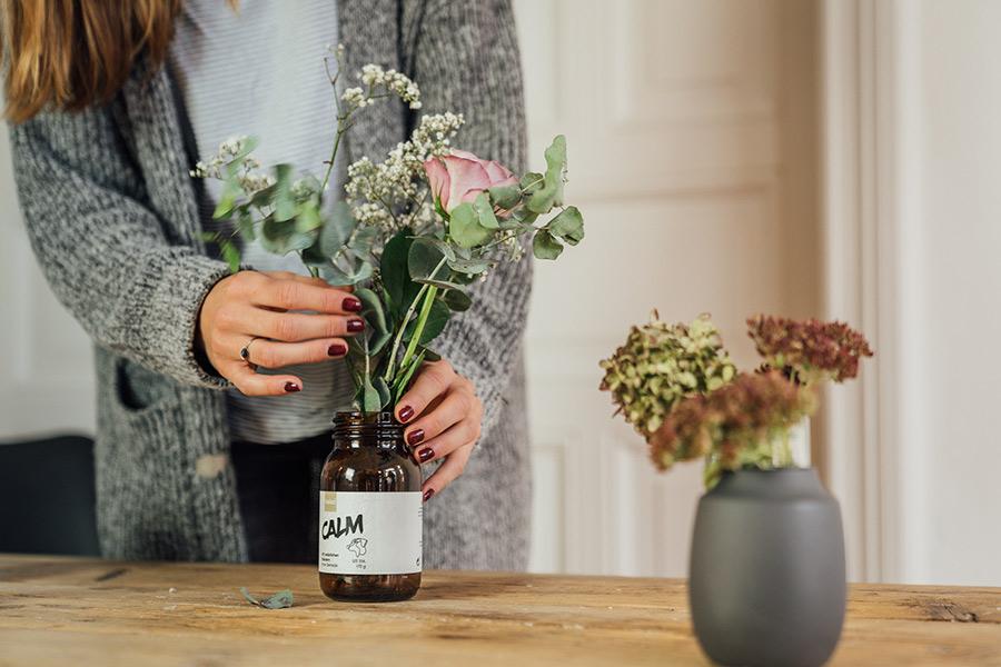 belso® CALM als Blumenvase